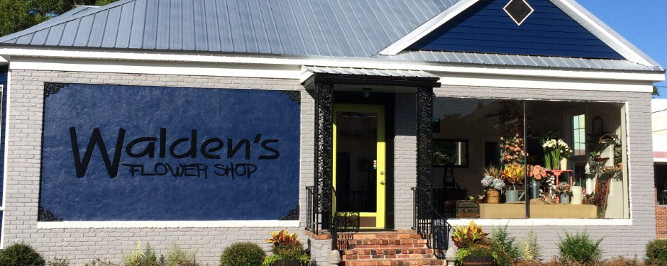 New look of Walden's Flower Shop